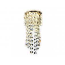 Встраиваемый точечный светильник K2071 G/MULTI золото/перламутровый MR16