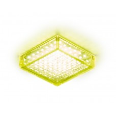 Встраиваемый потолочный светодиодный светильник S150 GD золото 5W 4200K LED