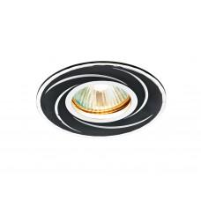 Встраиваемый потолочный точечный светильник A506 BK сатин/черный MR16