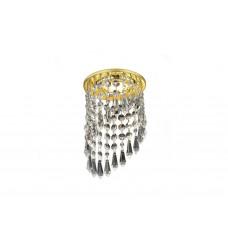Встраиваемый точечный светильник K2247 CL/G золото/прозрачный