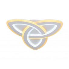 Потолочный светодиодный светильник с пультом FA775 WH белый 92W 480*480*40 (ПДУ РАДИО 2.4)