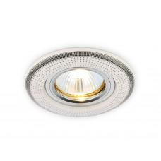 Встраиваемый точечный светильник MR16 из керамики D5531 W/BK белый серый узор