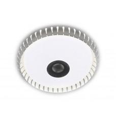 Музыкальный потолочный светодиодный светильник с пультом F787 WH 72W 500*500*60 (ПДУ ИК)