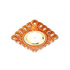 Встраиваемый точечный светильник MR16 из керамики D5550 SB/CL бронза прозрачный