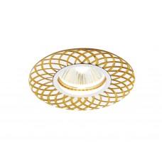 Встраиваемый потолочный точечный светильник A815 AL/G алюминий/золото MR16