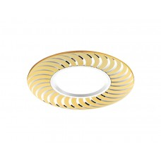 Встраиваемый потолочный точечный светильник A720 G/AL золото/алюминий