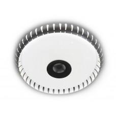 Музыкальный потолочный светодиодный светильник с пультом F788 CH 72W 500*500*60 (ПДУ ИК)