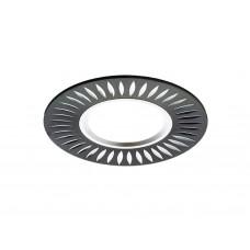 Встраиваемый потолочный точечный светильник A507 BK/AL черный/алюминий