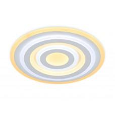 Потолочный светодиодный светильник с пультом FA92 WH 144W 500*500*50 (ПДУ РАДИО 2.4)