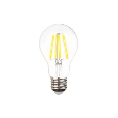 Светодиодная лампа Filament LED A60-F 6W E27 3000K (60W)