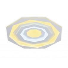 Потолочный светодиодный светильник с пультом FA822 WH белый 76W D500*50 (ПДУ РАДИО 2.4)