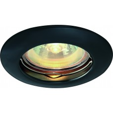 Встраиваемый светильник Arte Lamp A1203PL-1BC черный хром
