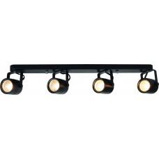 Спот Arte Lamp A1310PL-4BK черный