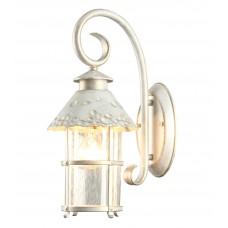 Бра уличное Arte Lamp A1462AL-1WG бело-золотой