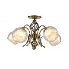 Потолочная люстра Arte Lamp A1607PL-5AB античная бронза