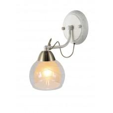 Бра Arte Lamp A1633AP-1WG бело-золотой