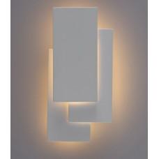 Настенный светодиодный светильник Arte Lamp A1718AP-1WH белый 18 Вт 3000K