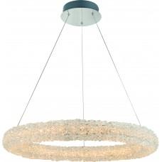 Подвесная светодиодная люстра Arte Lamp A1726SP-1CC хром 46 Вт 3000K
