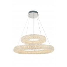 Подвесная светодиодная люстра Arte Lamp A1726SP-2CC хром 75 Вт 3000K