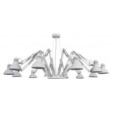 Люстра в стиле Лофт Arte Lamp A2043SP-12WH белый