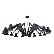 Люстра лофт Arte Lamp A2043SP-16BK черный