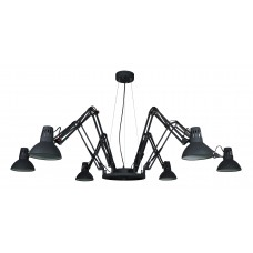 Люстра лофт Arte Lamp A2043SP-6BK черный