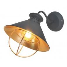 Бра в стиле Лофт Arte Lamp A3129AP-1GY серый