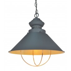 Люстра в стиле Лофт Arte Lamp A3129SP-1GY серый
