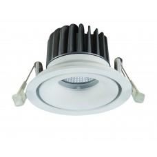 Встраиваемый светодиодный светильник Arte Lamp A3310PL-1WH белый 10 Вт 3000K