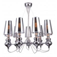 Подвесная люстра Arte Lamp A4280LM-9CC хром