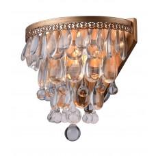 Хрустальное бра Arte Lamp A4298AP-1AB античная бронза