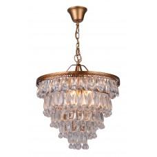 Хрустальная люстра Arte Lamp A4298SP-5AB античная бронза