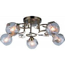 Потолочная люстра Arte Lamp A5004PL-5AB Alessandra