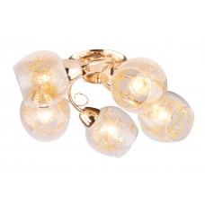 Потолочная люстра Arte Lamp A5006PL-5GO золото