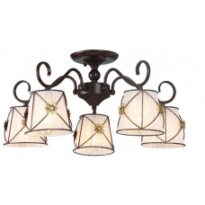 Потолочная люстра Arte Lamp A5495PL-5BR Fortuna