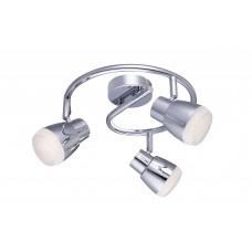 Светильник спот светодиодный Arte Lamp A5621PL-3CC хром 5 Вт 3000K