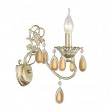 Бра Arte Lamp A5676AP-1WG бело-золотой