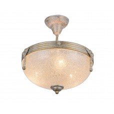 Потолочная люстра Arte Lamp A5861PL-3WG бело-золотой