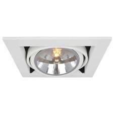 """Встраиваемый светильник """"кардан"""" Arte Lamp A5935PL-1WH Cardani"""