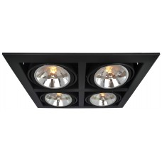 "Светильник ""кардан"" Arte Lamp A5935PL-4BK Cardani"