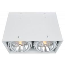 """Встраиваемый светильник """"кардан"""" Arte Lamp A5936PL-2WH Cardani"""
