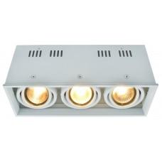 """Встраиваемый светильник """"кардан"""" Arte Lamp A5942PL-3WH Cardani"""
