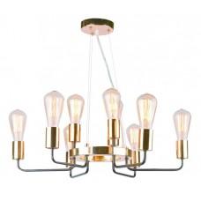 Люстра лофт Arte Lamp A6001LM-9BK Gelo