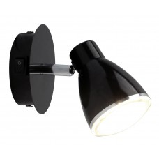 Светильник спот Arte Lamp A6008AP-1BK Gioved 5 Вт черный