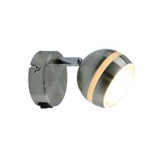 Светильник спот светодиодный Arte Lamp A6009AP-1SS матовое серебро 5 Вт 3000K