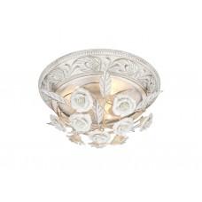 Потолочная люстра Arte Lamp A6361PL-3WG бело-золотой