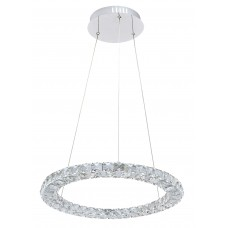 Подвесная светодиодная люстра Arte Lamp A6703SP-1CC хром 24 Вт 3000K
