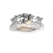 Люстра лофт Arte Lamp A7043PL-2CC хром