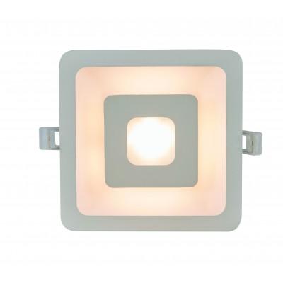 Встраиваемый светодиодный светильник Arte Lamp A7245PL-2WH белый 5 Вт/5 Вт 3000K
