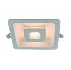 Встраиваемый светодиодный светильник Arte Lamp A7247PL-2WH белый 7 Вт/7 Вт 3000K